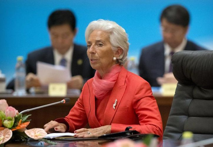Christine Lagarde, directora gerente del Fondo Monetario Internacional, será juzgada por presunta negligencia en la gestión de fondos públicos. (EFE)