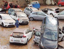 Flash flood strikes northern Athens suburb