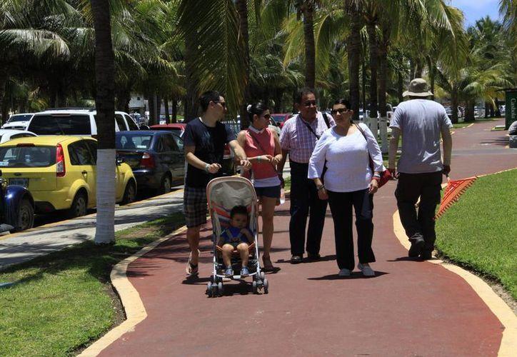 La promoción de Cancún se hace en los medios de comunicación electrónicos de la Unión Americana. (Tomás Álvarez/SIPSE)