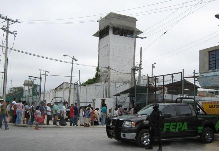 Implementan operativos en el interior de la cárcel del municipio. (Archivo/SIPSE)