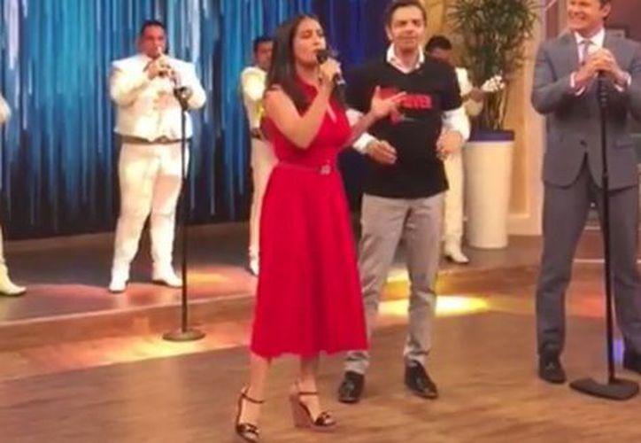 La actriz está de gira para promocionar Cómo Ser Un Latin Lover. (Captura Youtube).