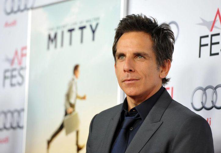 """Ben Stiller a su llegada a la premiere de su película """"The Secret Life of Walter Mitty"""" en el Teatro Chino TCL, en Los Angeles. (Agencias)"""