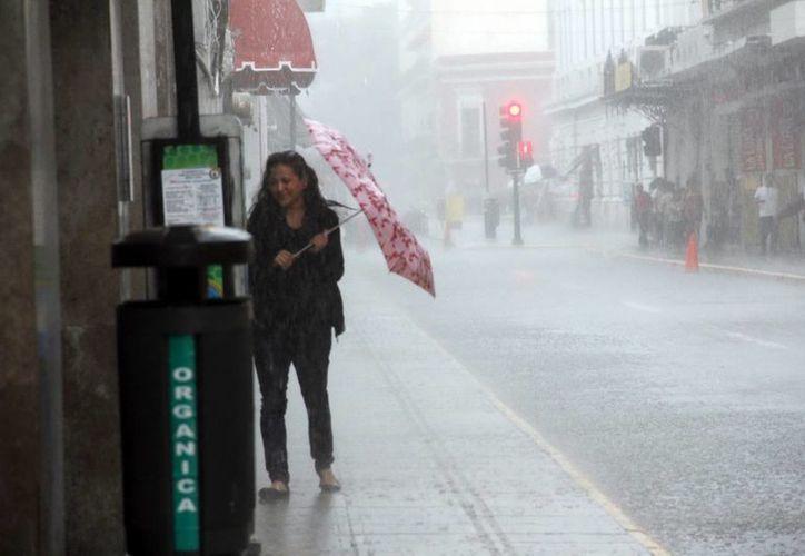 Las lluvias cada vez son más intensas. (Milenio Novedades)