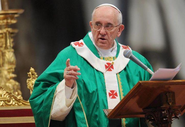 El Papa aplicará indulgencias en fieles que se hayan confesado, tomado la comunión y rezado. (EFE)