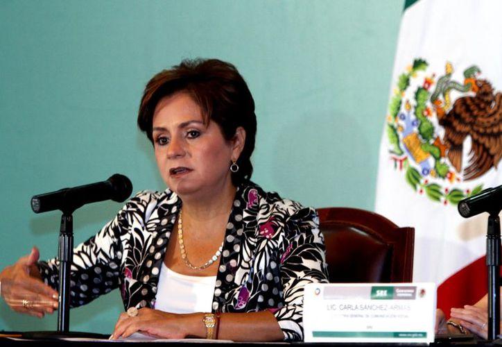 Espinosa fue embajadora de México en Austria y Alemania.. (Notimex)