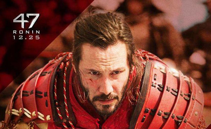 Durante la filmación Reeves se fue convirtiendo en samurai. (Facebook oficial)