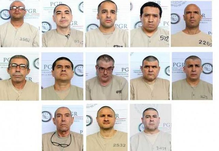El gobierno de México extradito a EU un grupo de 13 delincuentes, entre los que estaba Édgar Valdez Villarreal 'La Barbie'. (siete24.mx)
