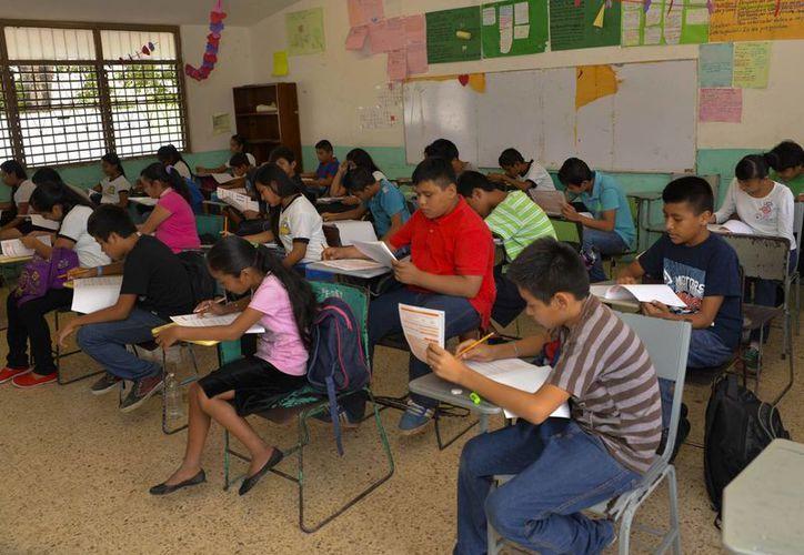 En este periodo 21 mil 539 niños y niñas entrarán por primera vez a la escuela. (Gerardo Amaro/SIPSE)
