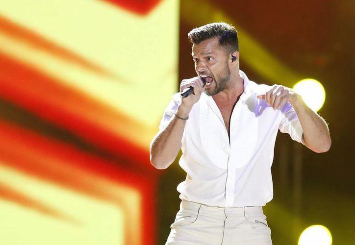 Ricky Martin señalo que el tema 'Adiós' representa quién es actualmente y el nuevo ciclo de vida que enfrenta. (EFE)