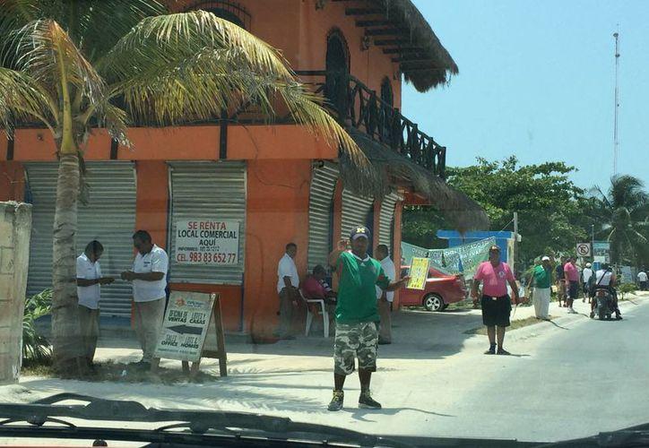 En Majahual hay 40 restaurantes distribuidos. (Claudia Martín/SIPSE)