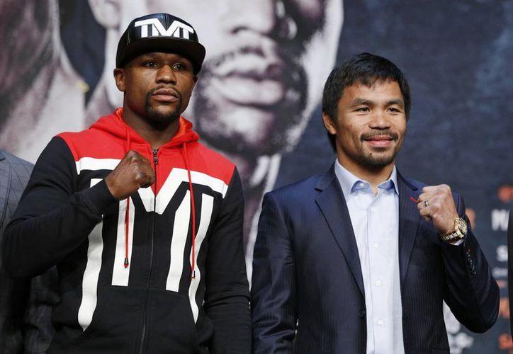 La pelea de box entre Floyd Mayweather y Manny Pacquiao parece que se robará la atención de los aficionados al deporte este fin de semana, aunque hay otros eventos muy llamativos. (Foto: AP)