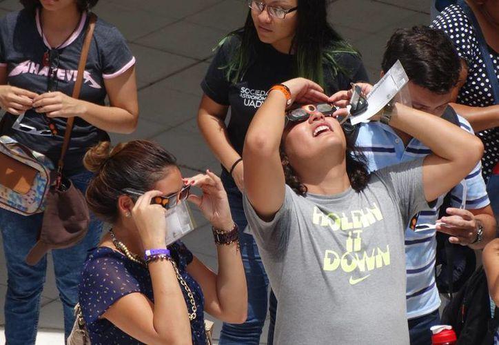 El fenómeno astronómico se repetirá en México hasta en 2024. (Christian Coquet/SIPSE)