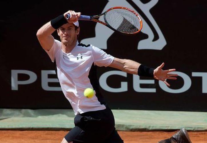 El tenista británico David Murray se impuso en dos sets, 6-1 y 7-5, en un partido sólido, al belga David Goffin. (AP)