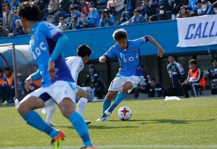 Las acciones fueron en un partido con el Yokohama FC. (Página oficial del Yokohama FC)