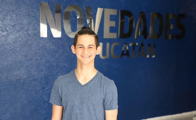 Daniel Lugo Maldonado, el bailarín yucateco que ha roto las barreras del éxito. (Sergio Núñez)