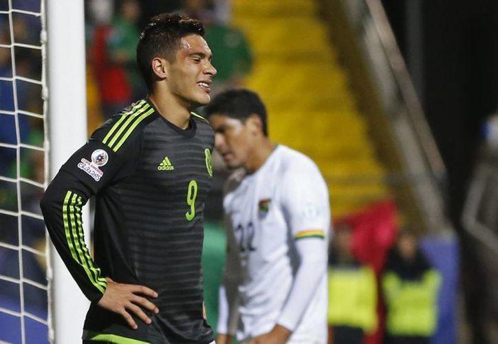 México empato a cero en su debut ante Bolivia. (Foto: AP)