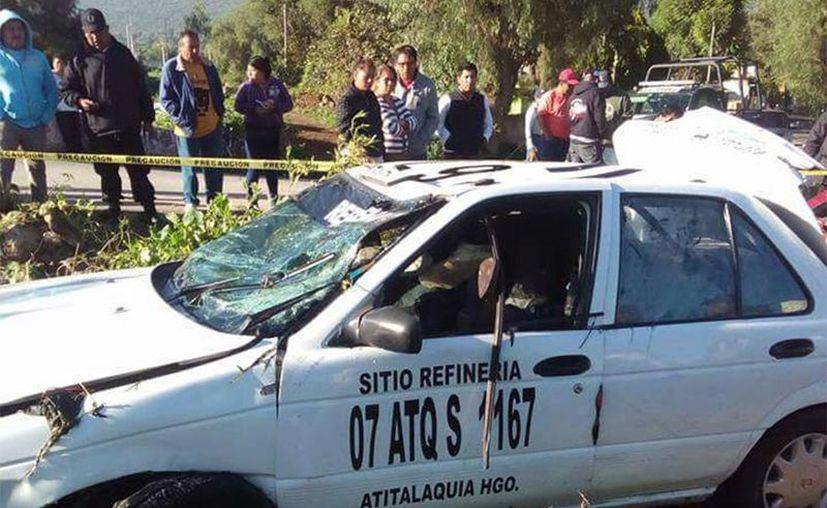 Un saldo de siete muertos dejó la volcadura de un automóvil (Emmanuel Rincón/Excélsior).