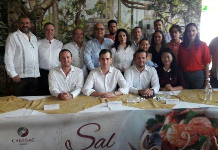 La presentación del programa se realizó en el restaurante Labná. (Israel Leal/SIPSE)