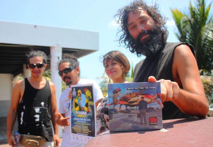 El 'Playa del Rasta Fest' se realizará este domingo a partir de las cinco de la tarde en Playa del Carmen. (Daniel Pacheco/SIPSE)