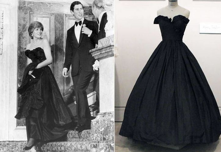 Fueron 10 en total los vestidos subastados de la otrora Princesa de Gales. (Agencias)