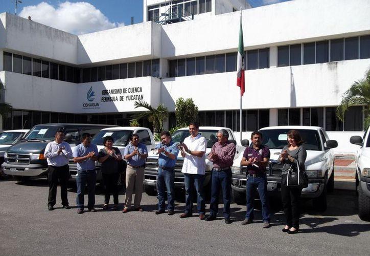 Las unidades fueron entregadas a los presidentes municipales. (Milenio Novedades)