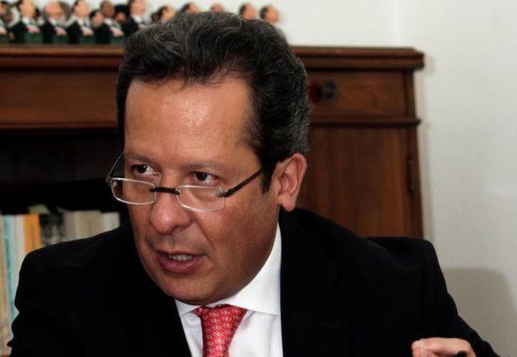 El vocero del Gabinete de Seguridad, Eduardo Sánchez. (Archivo/Notimex)