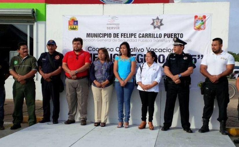 El operativo dio inicio el día de ayer en Felipe Carrillo Puerto. (Redacción/SIPSE)