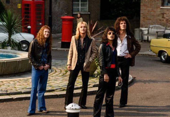 'Bohemian Rhapsody' es protagonizada por Rami Malek como Freddie Mercury. (Twitter)