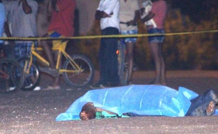 El fallecido recibió una herida de arma blanca en el corazón. (Novedades Yucatán)