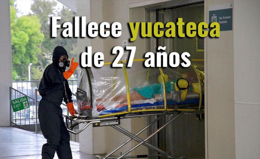Según datos de la Secretaría de Salud estatal se trataría de la persona más joven en morir en la entidad. (Novedades Yucatán)