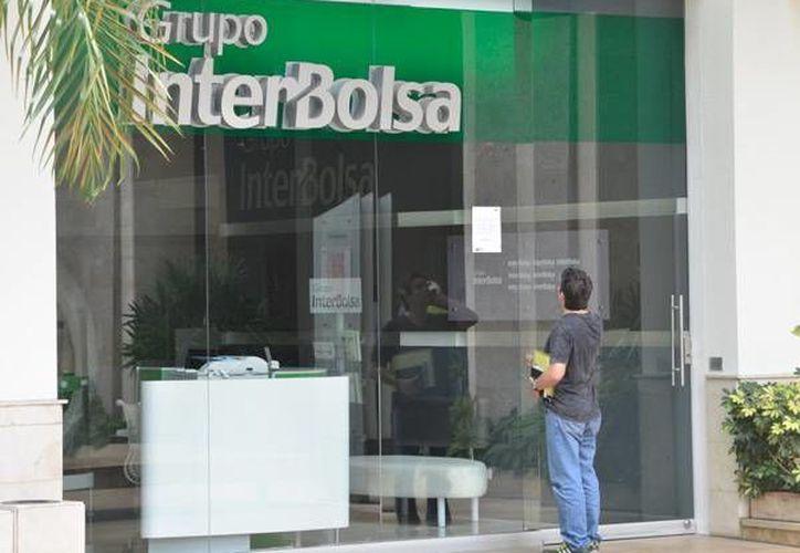 Sucursal en Bogotá de Grupo Interbolsa, acusado de fraude y estafa. (Agencias)
