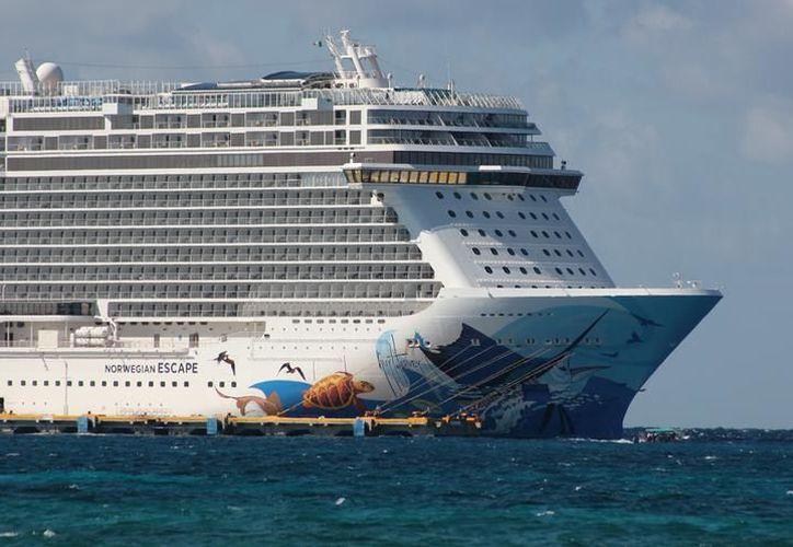 México podría romper el récord de arribo de cruceros y pasajeros en 2019. (Foto: Redacción)