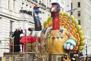 Desfile del Día de Acción de Gracias en EU
