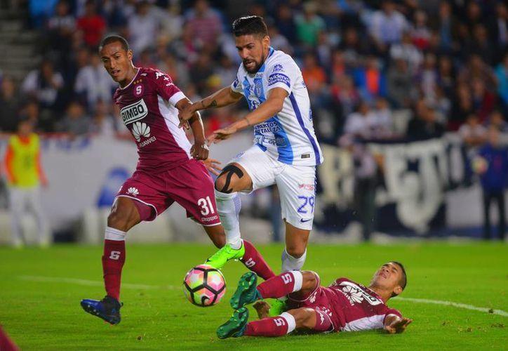Pachuca clasificó a semifinales de la Concachampions; enfrentará al ganador de la serie entre Árabe Unido y FC Dallas.(Jam media)