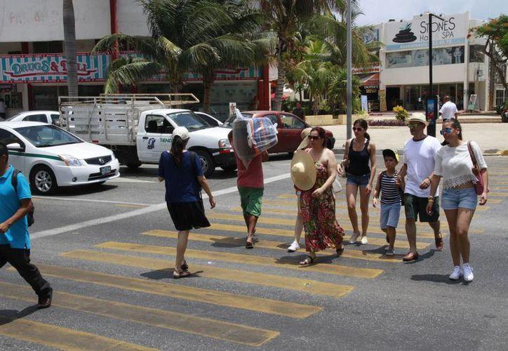 Los turistas norteamericanos son el principal mercado para este destino. (Tomás Álvarez/SIPSE)
