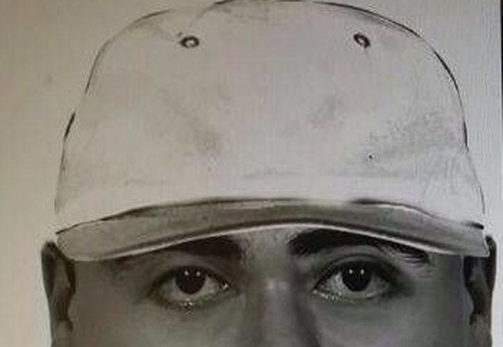 Las autoridades realizaron este retrato digital del sospechoso 1.
