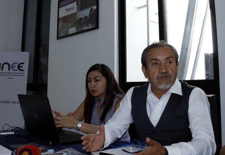 Alfonso Paz, director del Instituto Nacional para la Evaluación de la Educación. (Foto: Milenio Novedades)