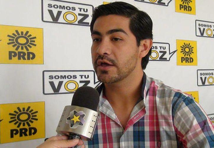 El registro de Tadeo Campagne quedó concluido en estos primeros días del año, por lo que el aspirante quedo ya como primer precandidato a diputado federal. (Silvia Ayala/Milenio)
