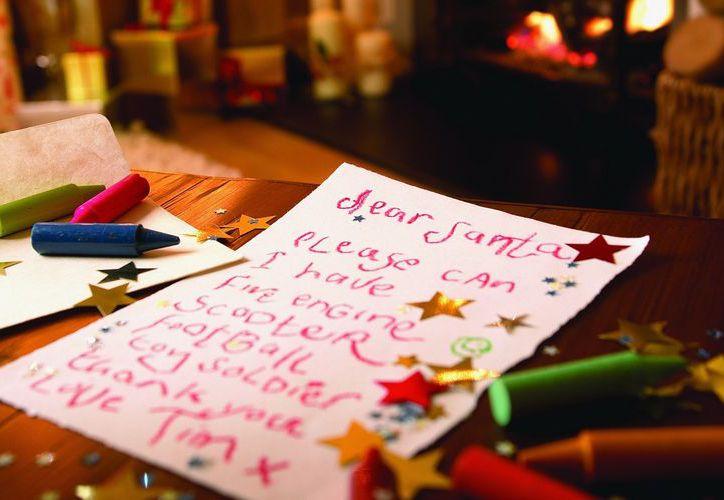 """Como parte de una actividad escolar, un niño de seis años se vio """"obligado"""" a escribir una carta a Santa Claus. (Foto. Fondox)"""