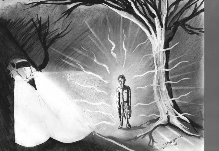 En el tramo carretero también han visto el fantasma de una persona mayor, afirman que falleció junto con la niña en un accidente. (Jorge Moreno/SIPSE)