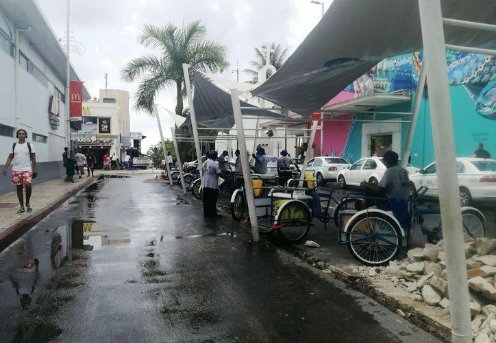 El sitio para el paradero se encuentra en la avenida Juárez con Quinta Avenida. (Octavio Martínez/SIPSE)