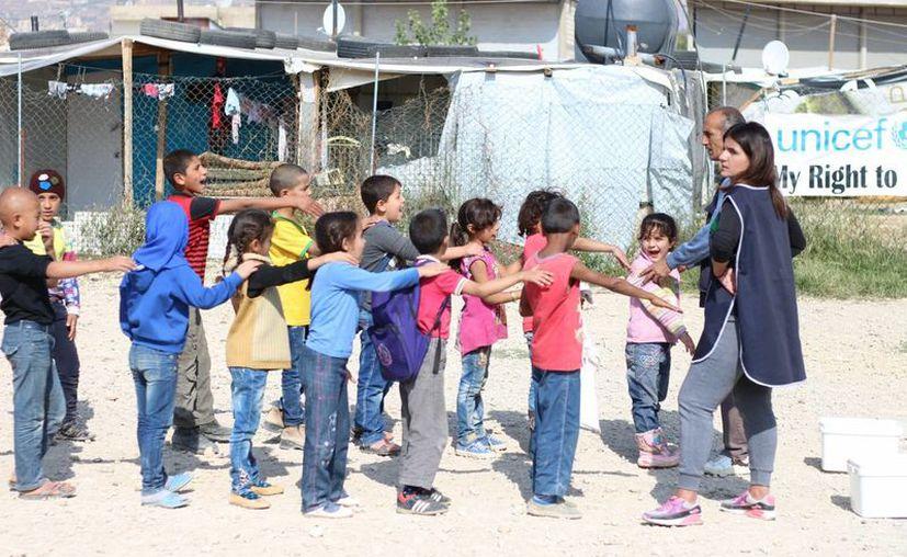 El número de niños sirios privados de escuela se eleva a tres millones. (Notimex)