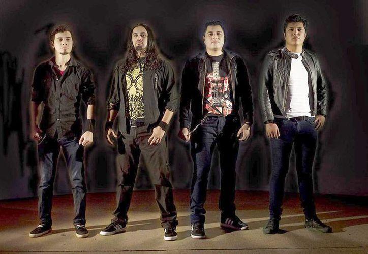 La banda yucateca 'Becoming Ashes' es una de las participantes del concurso que se realizará en en el Delorean Santuario Sonoro.(Milenio Novedades)