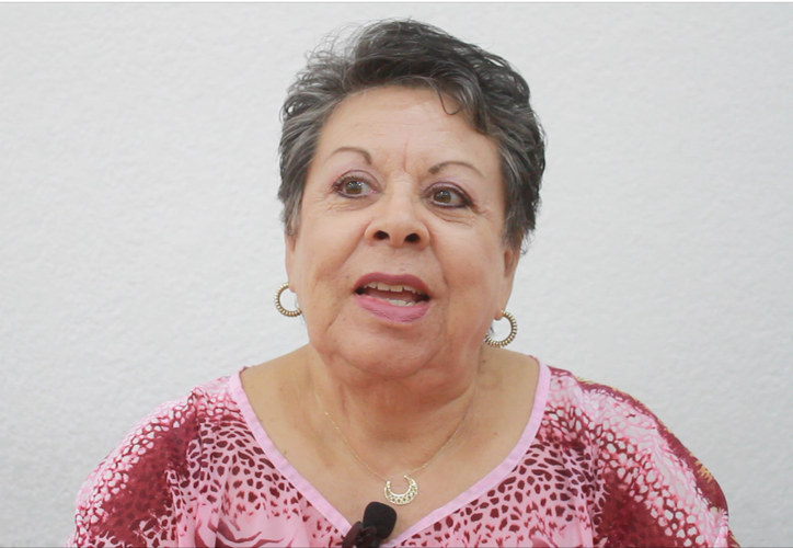 Yolanda Hernández Lugo, madre de familia busca compartir su testimonio, como impulso para quienes mantienen actualmente la pelea contra el cáncer. (Foto y video: Sergio Orozco/SIPSE)