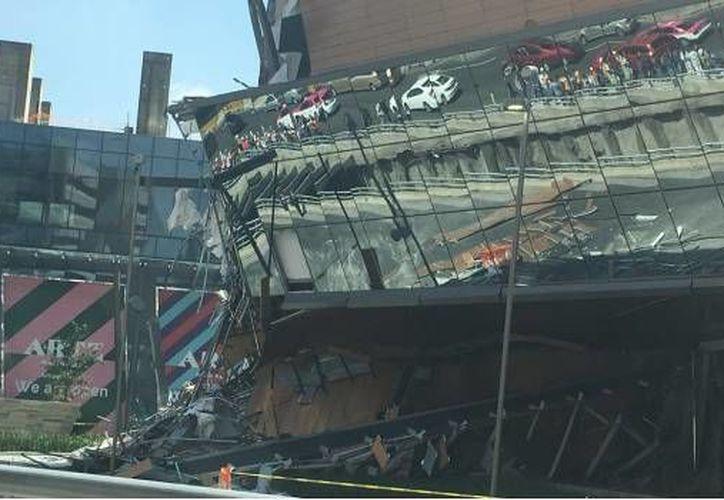En diciembre de 2016, la estructura colapsó por una fuga de agua. (Foto: @JorgeSerbal)
