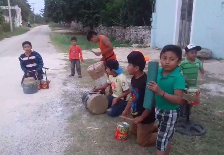 Banda Brava, grupo originario de Peba, localidad de Abalá en Yucatán. (Captura de pantalla/Youtube)