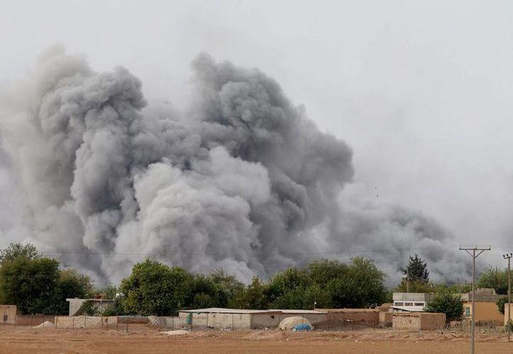 El Estado Islámico intentó tomar el control de un paso fronterizo entre Siria y Turquía. (EFE)