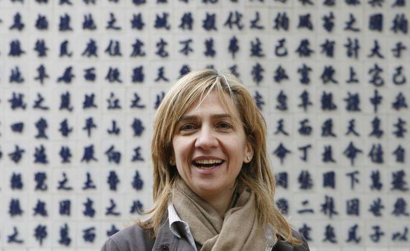 La infanta Cristina ocupa el séptimo lugar en la línea de sucesión al trono de España. (Reuters)