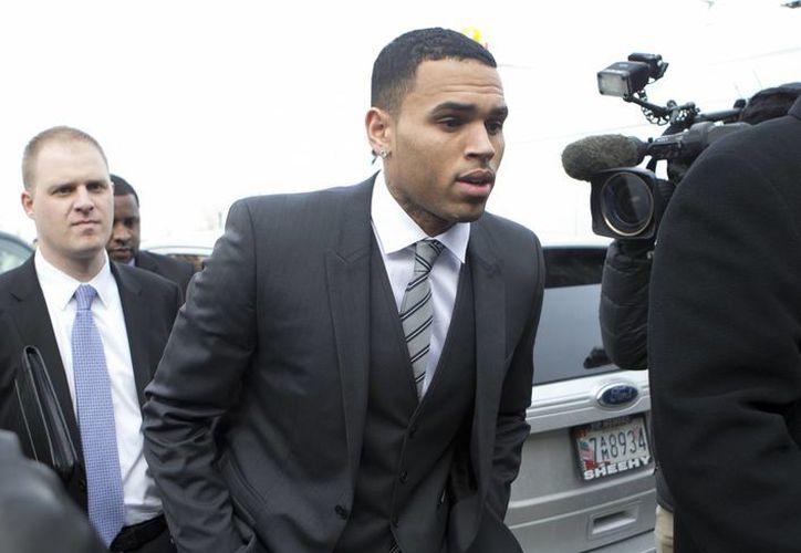 El cantante Chris Brown  había rechazado un acuerdo legal en el caso. (Foto archivo Agencias)