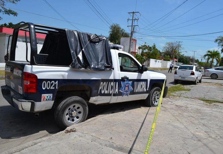 Los Vehículos de Emergencia se ven envueltos en accidentes de tráfico. (Harold Alcocer/SIPSE)